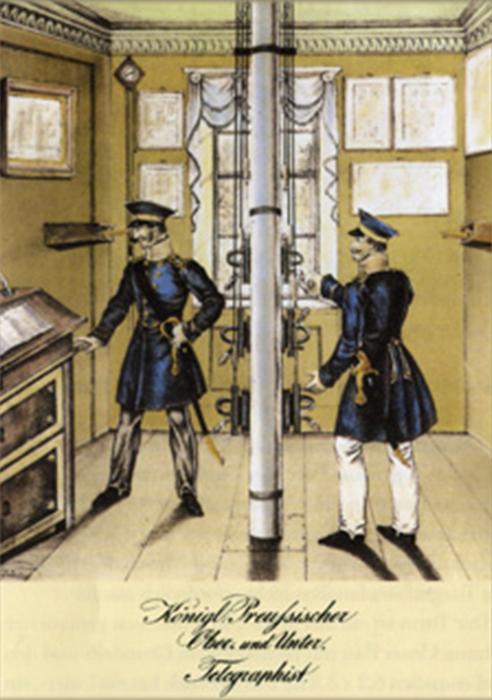 Historische Ansicht des Stationsinnenraumes