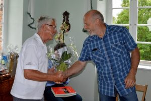 Albrecht Hinze (T16) sagt Tschüß