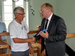 Landrat Walker dankt Werner Neum